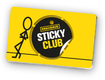 sticky club tag